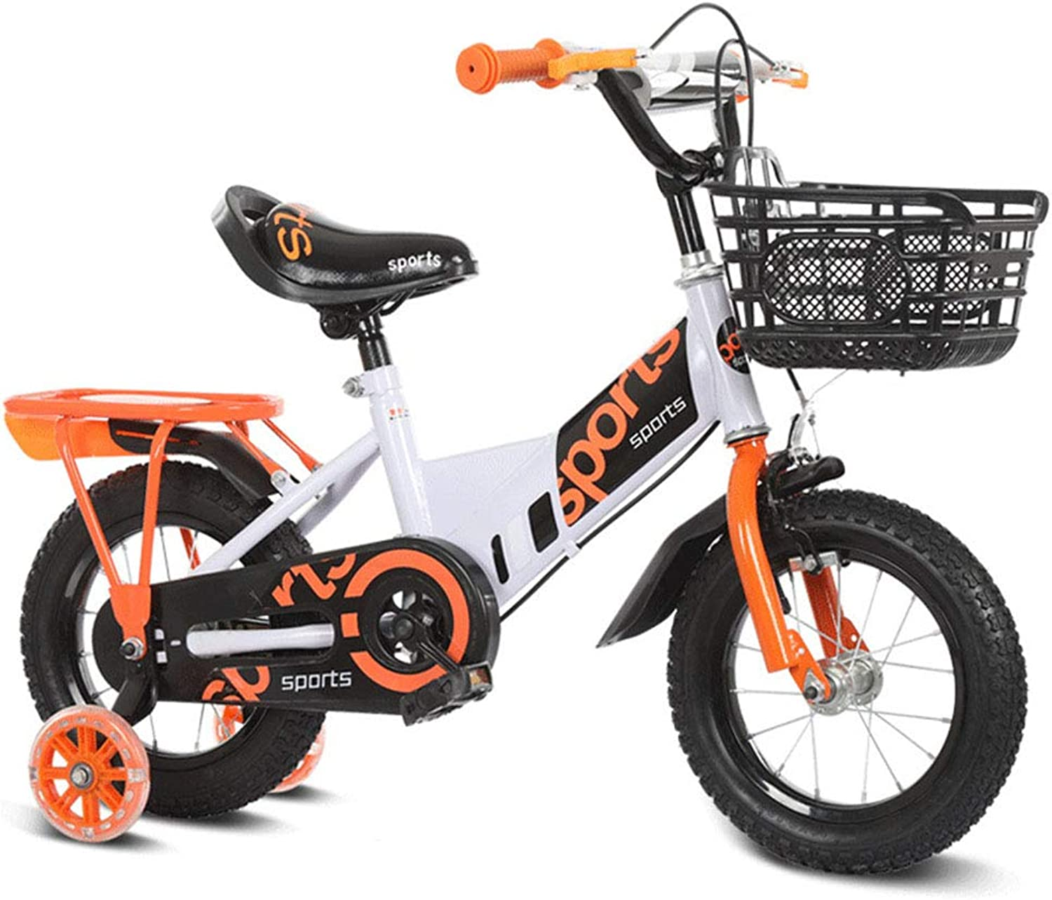 1-1 12  14  16  18  Kids bike Boys and Girls with alloy kickstand V-brake and backpedal brake   as from 2 years   BMX Edition