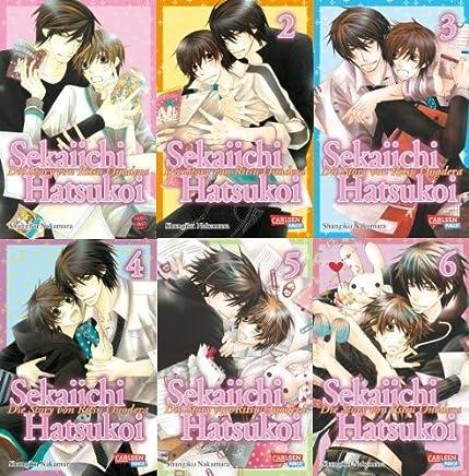 Sekaiichi Hatsukoi - Manga-Set 1-6 - Komplett