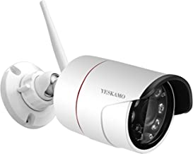 YESKAMO Wireless Bullet Camera Outdoor Expandable IP Cameras for NVR Kit, only Expandable for Model NK02-10808-2TB, ASIN: B01MRWVMN6, 8 Channel NVR Recorder With 6 pcs Cameras Kit