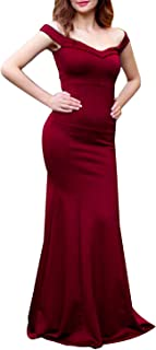 Fg Mixed Materials Special Occasion Dress For Women