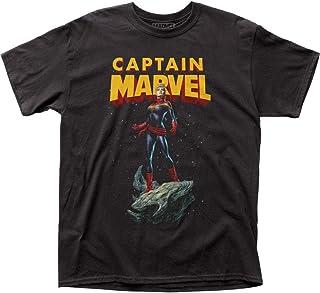 Captain Marvel - Camiseta de asteroide para hombre