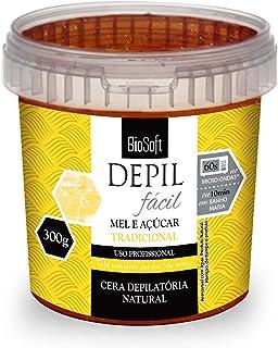 Cera Depilatória Mel e Açúcar - Nova Gramatura,