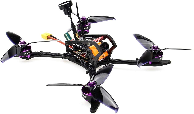 HGLRC Mefisto 226mm FPV Racing Drone F4 Flight Controller 2306 2450KV Brushless Motor 60A 4 in 1 ESC 4mm Carbon Fiber Frame Kit GTX226 VTX Runcam Camera(Designed by redorama) (with Frsky XM+)