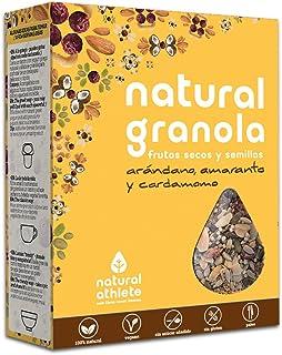 Granola Natural Athlete, Frutos Secos y Semillas BIO, Sin Az