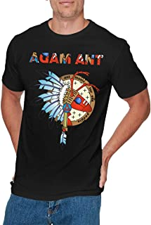 Adam /& The Ants Logo Lady Long Sleeve T-shirt Woman Rock Band Tee