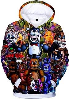 Unisex 3D Digital Print Pullover Hoodies Hooded Sweatshirts