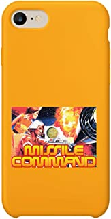 GlamourLab Missile Command Retro Poster_R3042 Carcasa De Telefono Estuche Protector Case Cover Hard Plastic Compatible with For iPhone 7 Plus Novelty Present Birthday