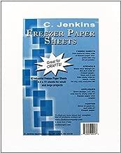 C. Jenkins Freezer Paper Sheets 8.5X11 50/Pkg