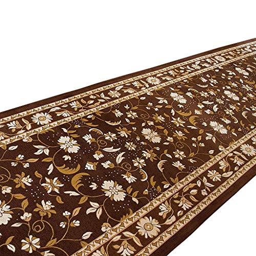L.TSA Carpet/Runner Rechteckiger Korridor Rutschfester Teppich, Dicke 8 mm - Eine Vielzahl von Größen kann angepasst Werden