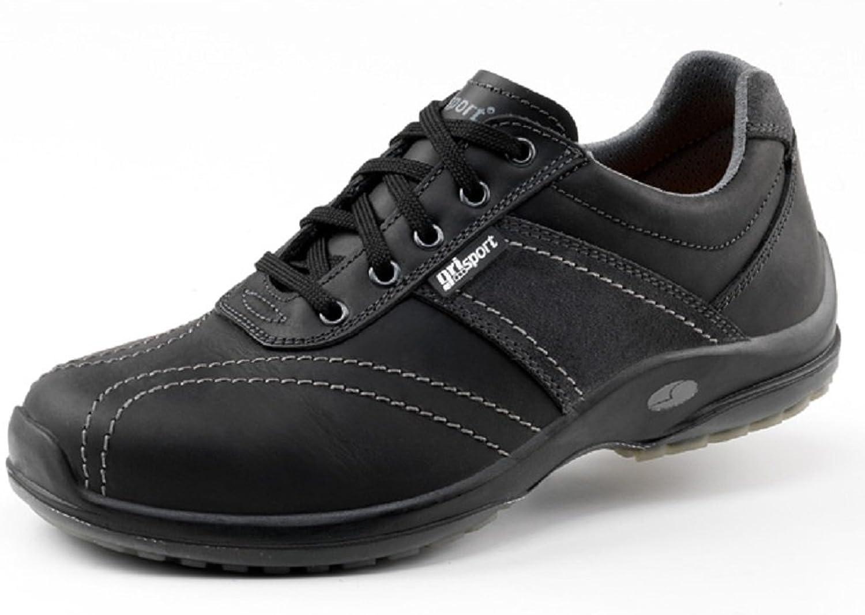 greyport GRS924-39 Trend Safety shoes, Size  39, Black (Pack of 2) - EN safety certified