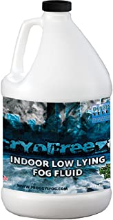 Froggys Fog - Cryofreeze – Low Lying Fog Fluid for Stage and Studio – Use in Fog Chillers, Ground Foggers and Low Lying Fog Generators - 1 Gallon