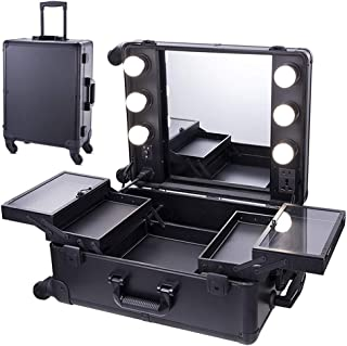 makeup cases with lights