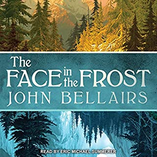 The Face in the Frost audiobook cover art