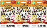 Animal Crossing Amiibo Cards 3 Pack Set of Series 2 - Nintendo Wii U