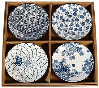 lachineuse 4 Assiettes ASIATIQUES - Design Japonais Traditionnel