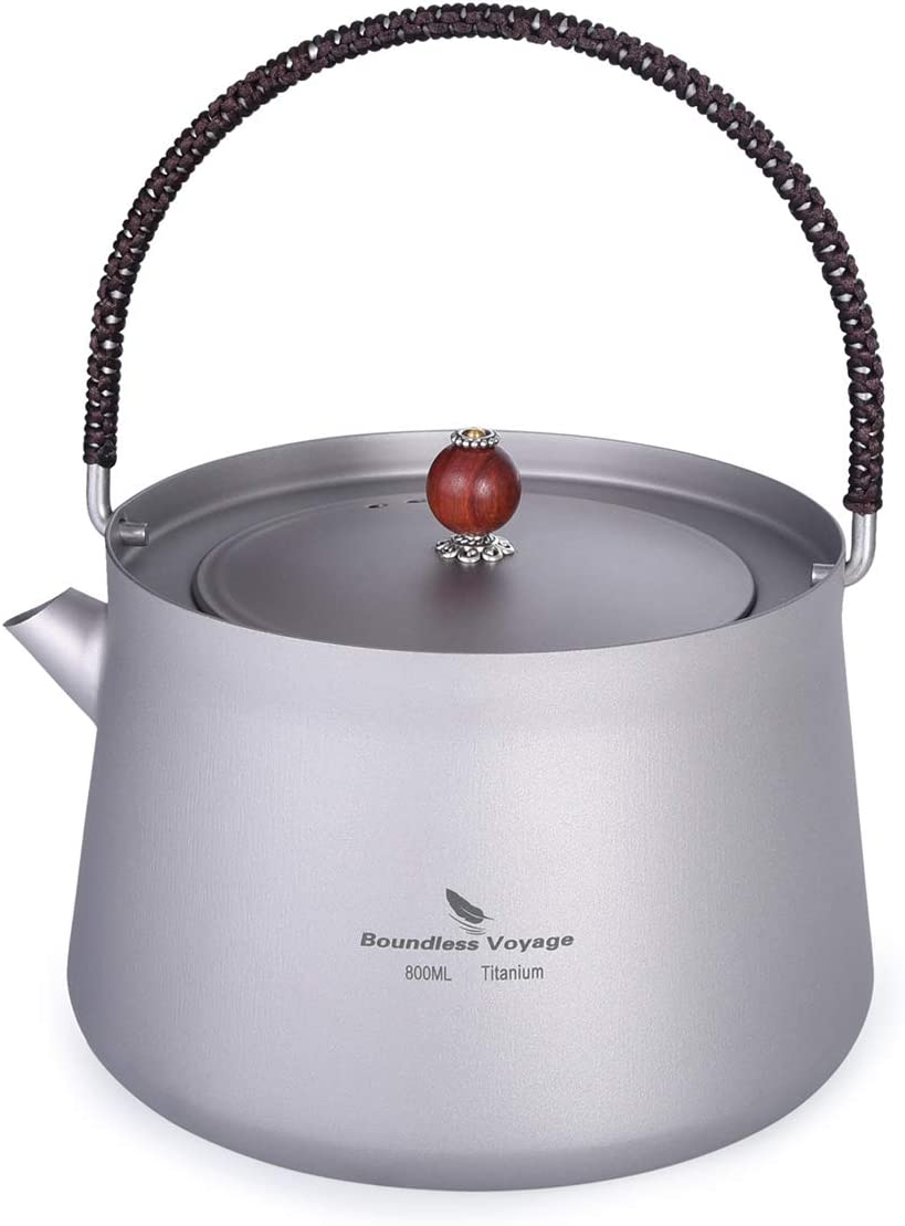 Boundless Voyage 800ml Titanium Anti-scalding Filter Kettle with 4 years warranty Ranking TOP4
