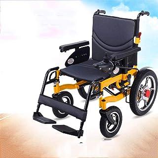 De peso ligero plegable sillas de ruedas eléctrica Silla de ruedas silla de ruedas, silla de rehabilitación médica for la tercera edad, las personas de edad, de pie Silla de ruedas Eléctrica totalment