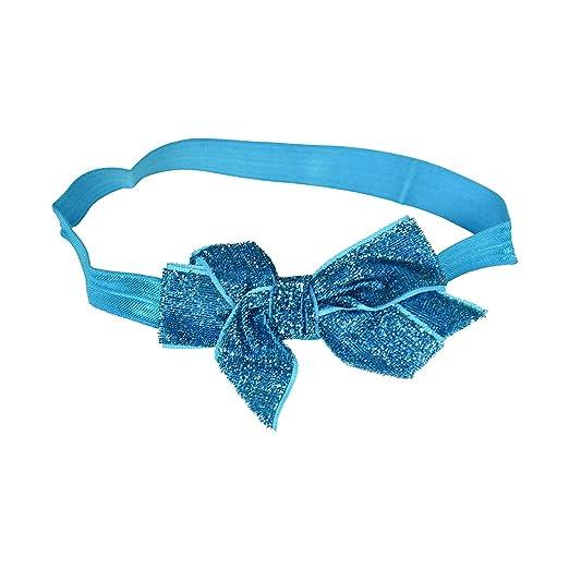 Deep Teal Baby Headband