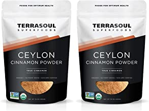 Terrasoul Superfoods Organic Ceylon Cinnamon Powder, 2 Lbs - Lab-Tested for Authenticity | Premium Quality and Flavor