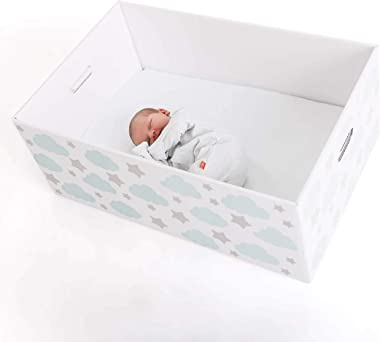 Finnbin Finnish Baby Box Bassinet: Baby Shower Special | Safe & Portable Sleeper and Starter Kit for Your Newborn Infant Boy or Girl