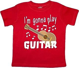 inktastic I'm Gonna Play Guitar- Music Toddler T-Shirt