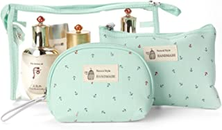 Impermeable Bolsas de Aseo Bolsa de cosméticos Neceseres de Viaje Organizador de Viaje para Hombres y Mujeres de Viaje Camping Cosas necesarias cosméticos Estuche de Maquillaje Bolso-