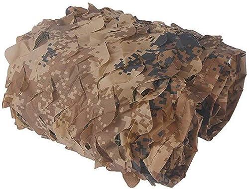 BAIYING Filet De Camouflage Tissu Oxford Le Désert Camouflage L'ombre Crème Solaire Voiture De Couverture Maille De Nylon 8 Tailles, 4 Couleurs (Couleur   A, Taille   6.8X6.8M)