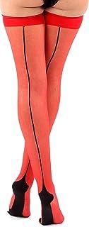 NEON Scheletro Ossa Collant Collant 40 Denari Opaco Costume Maglieria