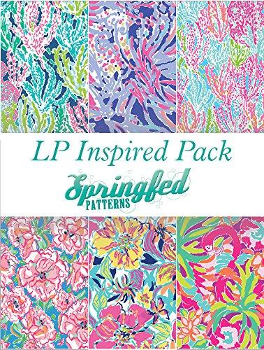 LP Inspired Craft Vinyl Pattern Pack #1 Six Patterns 12x12!