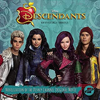 Descendants audiobook cover art
