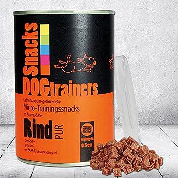 Schecker Dogtrainers Bœuf pur 1 x 160 g de micros d'entrainement lyophilisés séchés sous vide