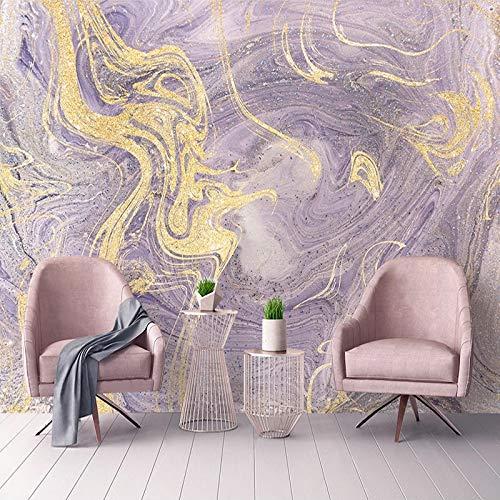 Mural Wallpaper Photo Home Custom 3D Photo Wallpaper Luxury Fashion Purple Marble Pattern Mural Modern Living Room Sofa TV Background Waterproof Wall Paper