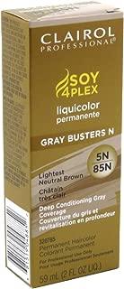 Clairol Professional Liquicolor Perm 5N/85N Lightest Neutral Brown 2 Ounce (59ml) (3 Pack)