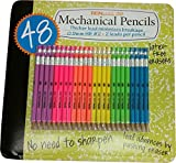 TekWriter Jr 48ct: #2 Mechanical Pencils 0.9mm Multicolored 48pk (Rainbow)