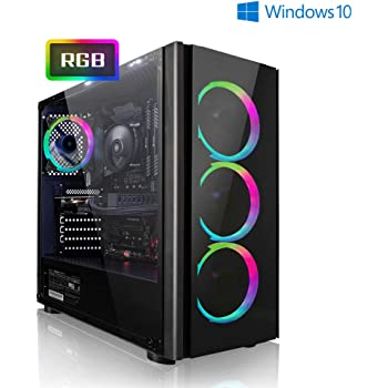 PC-Gaming AMD Ryzen 5 2600 6x3.90GHz Turbo • GeForce GTX1660 6GB • 1000GB HDD • 240GB SSD • 16GB RAM • WLAN • Windows 10 Home • pc da gaming • pc fisso • pc desktop • pc gaming assemblato