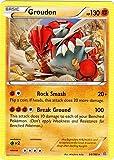 Pokemon - Groudon (84/160) - Theme Deck Exclusives - Cracked Ice Holo