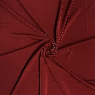 burgundy knit fabric