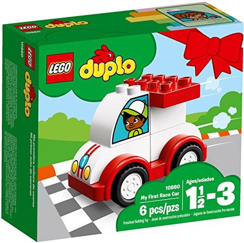 LEGO Duplo 10860 - Mein erstes Rennauto, Spielzeug für das Kindergartenalter