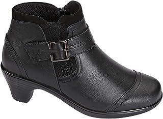 Orthofeet Emma BioHeels Most Comfortable 2 Inch Black Low...
