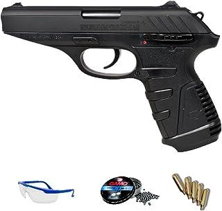PACK pistola de CO2 Gamo P25 blowback de balines de plomo (perdigones) <3