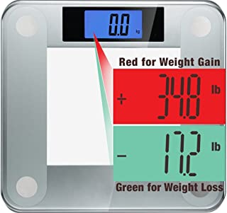 Ozeri Precision II 200 kgs (440 lbs) Bath Scale with 50 gram Sensor Technology (0.05 kg / 0.1 lbs) & Weight Change Detection