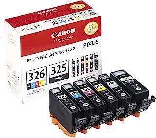 Canon 墨盒 BCI-326 (BK/C/M/Y/GY) + BCI-325 多功能包 BCI-326+325/6MP