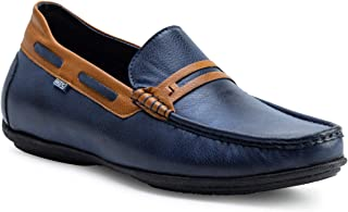 ID Men Blue Loafers