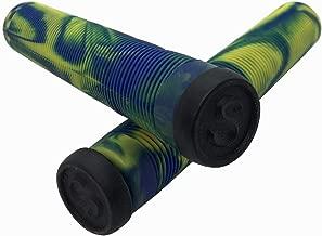 SCT USA Twisted Scooter Bar Grips High Rebound Rubber Bar Ends -Soft 160 mm Long