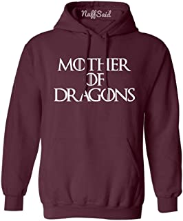NuffSaid Mother of Dragons Hooded Sweatshirt GOT Pullover - Unisex Hoodie