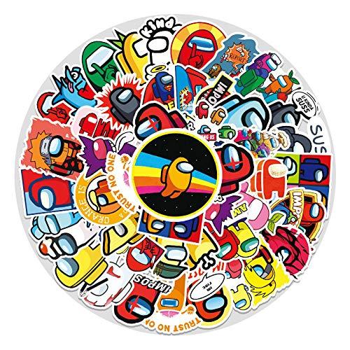WYZNB 50 unids etiqueta engomada del juego para la tableta de la decoración del coche de la vespa del graffiti del pvc de la