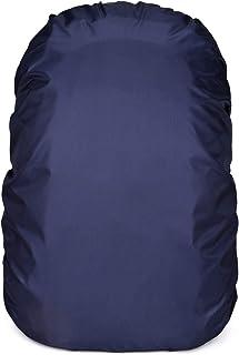 リュックカバー 防水 レインカバー ザックカバー 8色 5サイズ(15~90L) クロスバックル 収納袋付 2倍防水 OVER-ALL