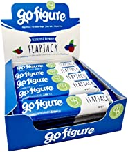 GoFigure Flapjack Snack Bar with Patented SlimBiomeA Weight Management Ingredient Blueberry Raspberry High in Fibre 90 Calories 20 Bars Estimated Price : £ 32,99