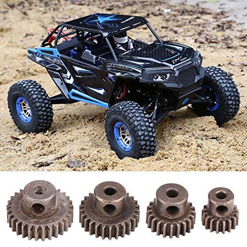 SALUTUYA El Motor de RC Parte los piñones del Motor de RC respetuosos del Medio Ambiente para los Motores de RC con Material de Acero
