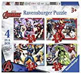 Ravensburger Marvel Avengers 4 in Einer Box (12, 16, 20, 24-) Puzzle